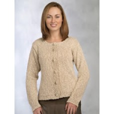 Linen Cotten Knitted Cardigan