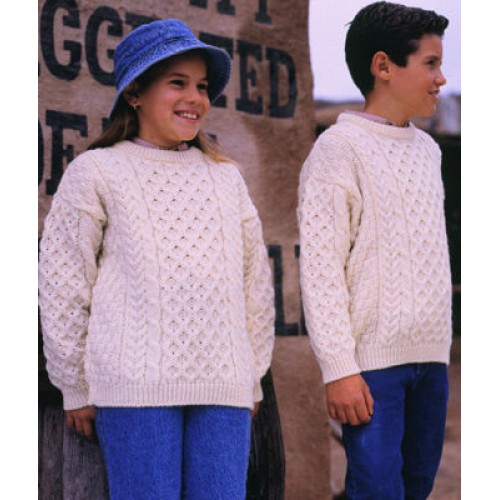 traditional aran sweaters for children
