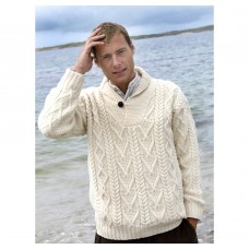 Shawl Collar Mens / ladies Sweater